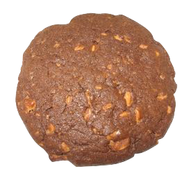 Dark Allegiance is a chocolate cookie with butterscotch chips.