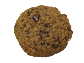 Entity Within is an oatmeal cookie with coconut and chocolate chips.