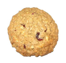 Taste Of Blood is an oatmeal cookie with dried cranberries and white chocolate.