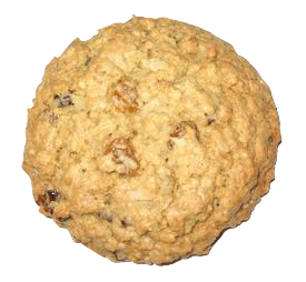 Whispers In The Forest is an oatmeal raisin cookie.